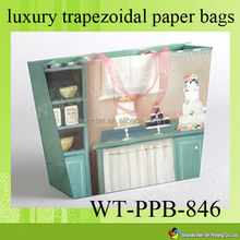WT-PPB-846 high quality printed art paper carrier bag