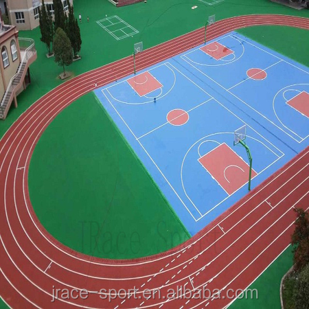 professional rubber running track gym flooring