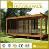 Solid Decorated Glass Portacabin House with High Quality