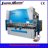 press brake machine wc67k-300ton6000mm cnc hydraulic press brake bending sheet metal