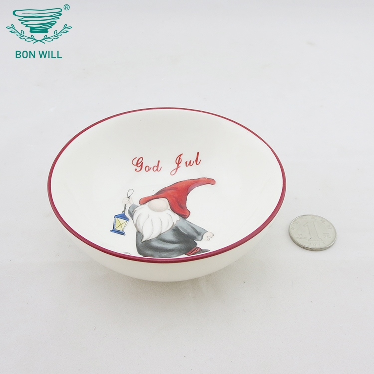 OEM custom hotel restaurant porcelain ceramic white soup bowls