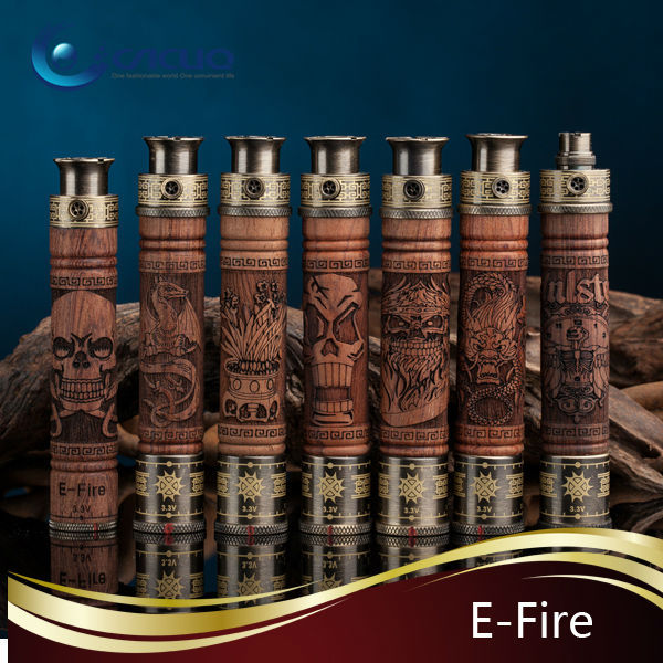 New arrivel excellent design stock selling e fire vision battery e-fire vape mods