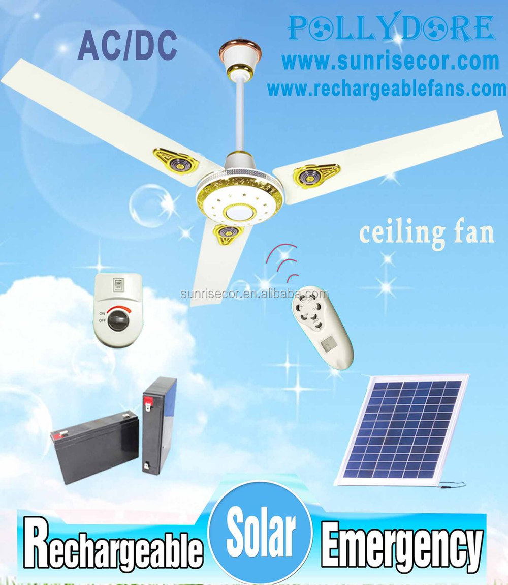 Plafond ventilateur rechargeable plafond ventilateur solaire avec la lumi re et t l commande pld - Ventilateur de plafond avec lumiere et telecommande ...