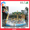 2016 Hot sale high quality goose carousel amusement park carousel horse for kids
