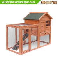 Pet Rabbit Bunny Wood Hutch House For Outdoor Use