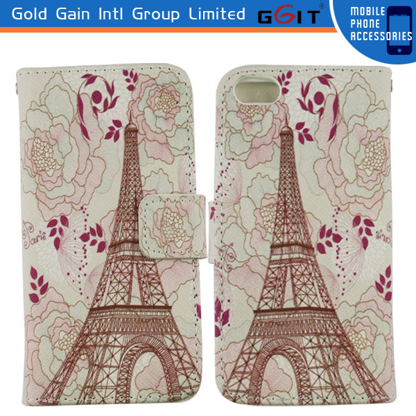 Latest design Water transfer printing case for iPhone 5 cover