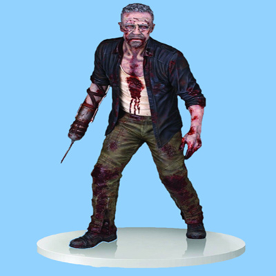 Resin Walking Horrible Zombie Figure