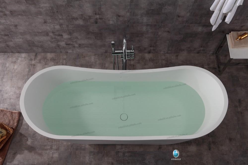 K37 Bathtub Factory Stone Resin Bath Tub,Composite Bathtub ...