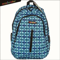 4 colors available ready stock polyester printed backpack day pack