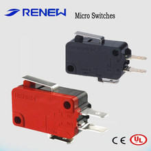 RV-161-1C25 short hinge lever type micro switch smd omron proximity switch