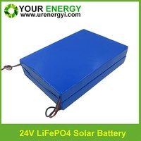 High quality 24v 30ah lifepo4 battery/outdoor solar lighting battereis 30ah lithium power battery 24v from faithful factory
