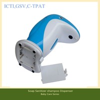 guangdong icti factory wholesale for Cute Penguin Automatic Shampoo Sanitizer shampoo Dispenser 400ml