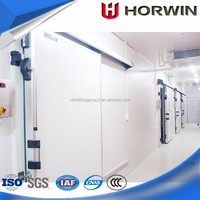 frozen fish refrigerated container cold room sliding doors