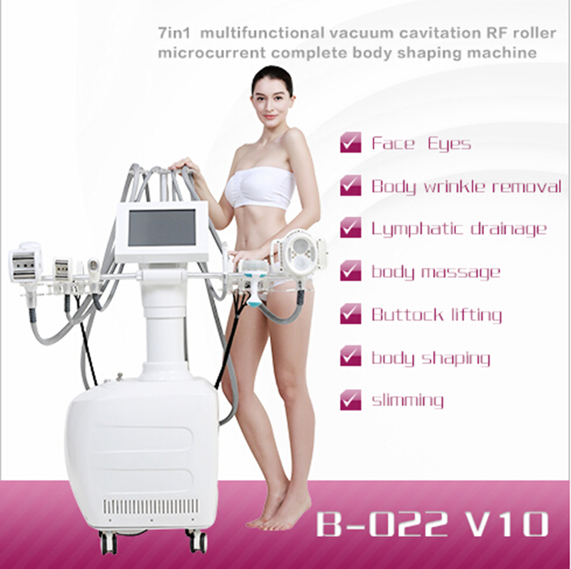 2017 GLM wholesale Ultrasonic Cavitation Radio Frequency 40k Cavitation No-needle mesotherapy instrument