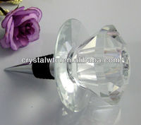 2014 crystal wine stopper and candle holder as wedding favors