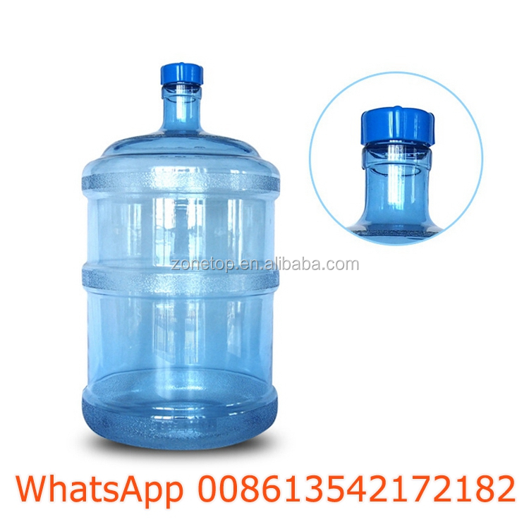 China Guandong 18.9l 18.9litre 18.9liter 5 gallon pet plastic jar