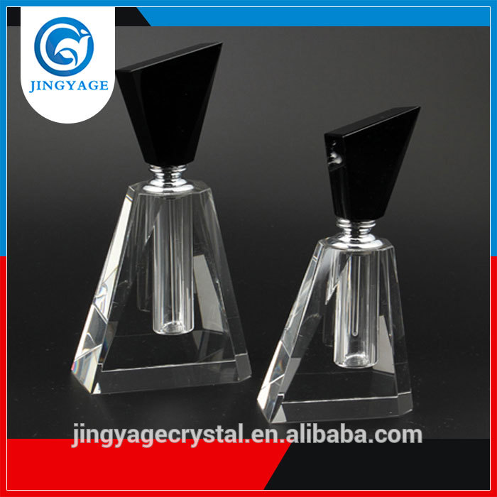 Factory directly sale personalized engraving logo crystal perfume bottle women atomizer
