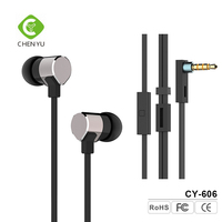 Full Metal Jacket HiFi In-ear Headphones earphones headsets with Strong Bass for Music Enthusiasts
