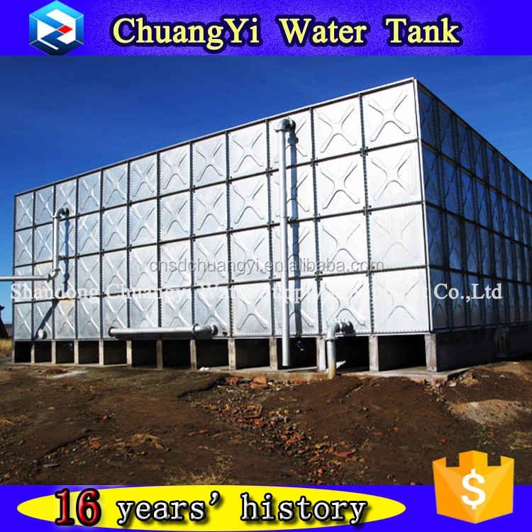 High quality raw material galvanizing durable water tank for irrigation farming