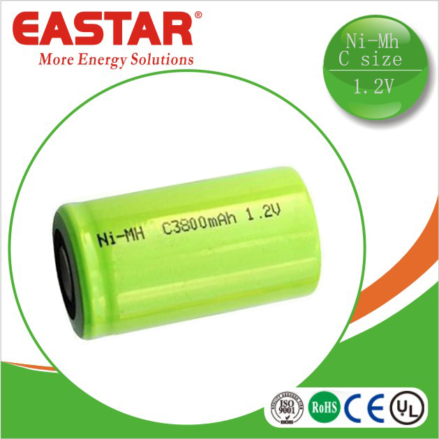 Rechargeable nickel metal hydride battery C size 1.2v 4000mah battery for tools