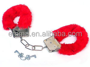 2015 Hot Sex Toy Handcuff For Woman Stainless Steel 2pcs Pair Bondage BDSM Handcuffs HK9061