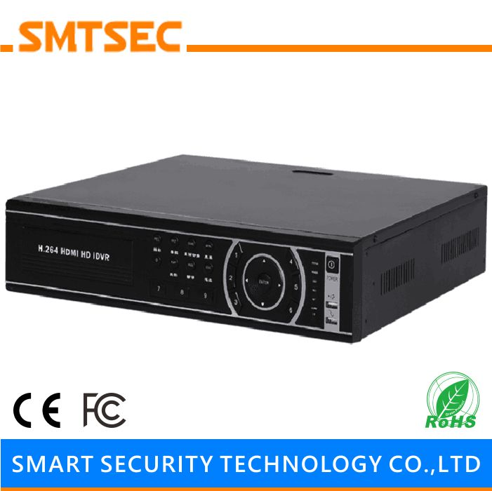 SMTSEC NVR-E3208 H.265/H.264 24CH 5.0mp/32CH 3.0mp/32CH 1080P NVR With Embedded LINUX CCTV Systems