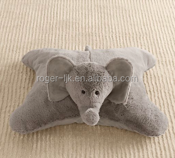 ICTI Create Your Own CE EN71 Plush Toy Fashion Custom elephant plush pillow