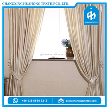 Free sample polyester satin silk sheer white curtain fabric, latest curtain styles from china