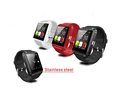 Bluetooth smart watch U8 plus with sports pedometer and sleep monitoring