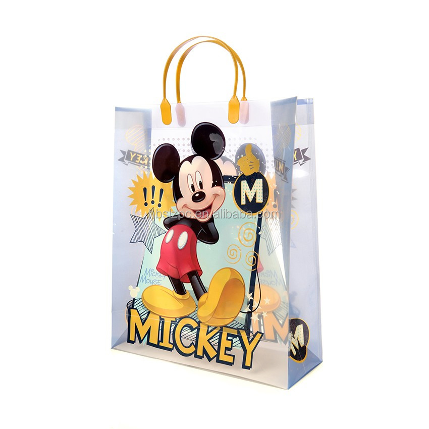 New products baby toy bag ,carton gift bag, plastic handle bag