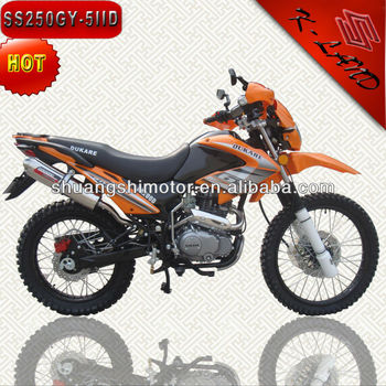 Chongqing orange motocicleta dirt bike 250cc (SS250GY-5IIB)