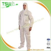 Waterproof senior medical protective clothing/disposable coverall