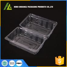 very small plastic clear cakes packaging boxes for food delivery packaging manufactory