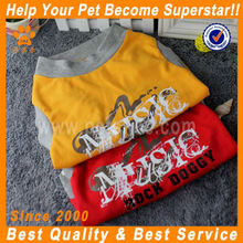 JML 2014 new design yellow/red chinese dog clothes