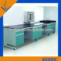 laboratory wall mounted table