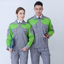 2016 Hot sale coveralls unifrom design gardener worker uniform