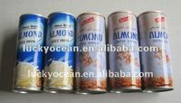 Tinned nature almond juice drink health