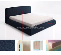 new design modern wooden queen bed