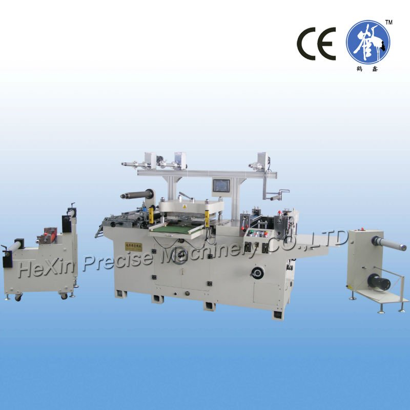 Silicon Sheet/Transparent Mica/Fiber Cloth Die-Cutting Machine