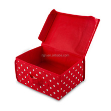 Foldable covered non-woven fabric storage boxSock storage box