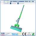 Floor cleanroom mop with pva sponge mop up