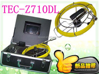 Waterproof pipe plumbing borescope endoscope inspection camera TEC-Z710DL