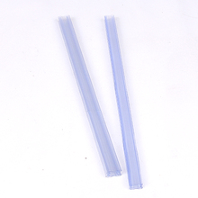clear square pvc ic packaging tubes rectangular twist lock telescopic plastic packing tube