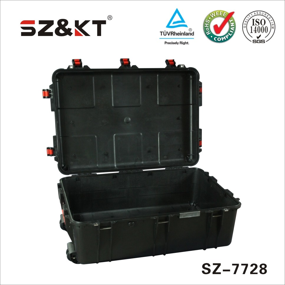 hard tool box plastic equipment carrying case