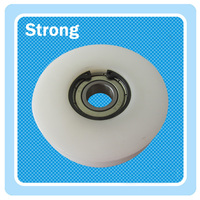 Factory customized nylon plastic window roller wheel for window as per your roller drawing