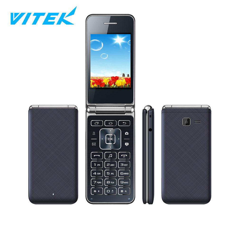 VTEX 1.77 2.4 2.8 inch Best Seller qwerty keyboard unlock flip mobile phone,Low Price mtk software mobile phone