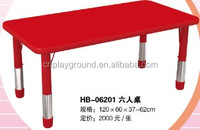 (HB-06201) red color kids laptop desk/ cheap kids desk / children study desk plastic tables and chairs in china