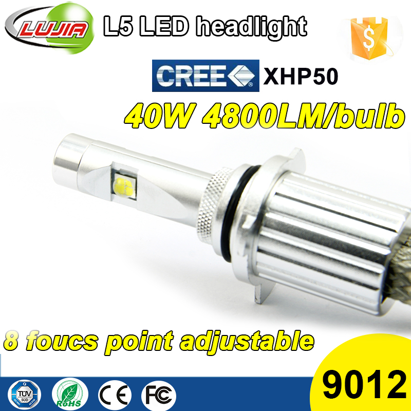 H2R led kit headlight 9012 H4 H7 H11 4300K 5000k 6000K XHP50 h4 led D1s D2s D3s D4s car headlight bulbs