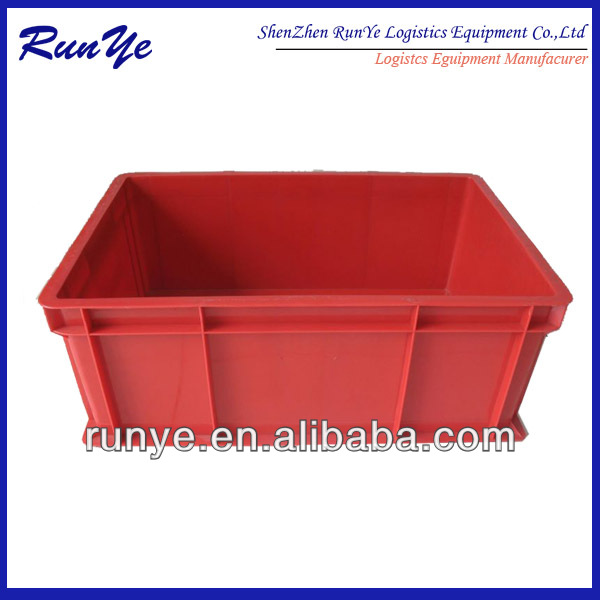 Plastic stackable storage container, factory direct sales