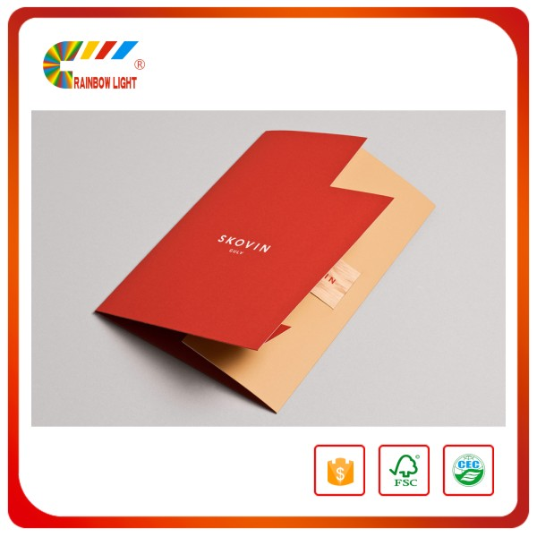 Supplier best price hot sale business decorative b5 paper file folders